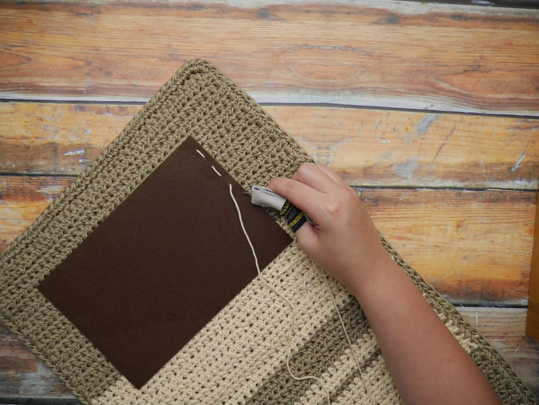 Crochet Desk Mat Amp Ottlite Review Amp Giveaway Sewrella