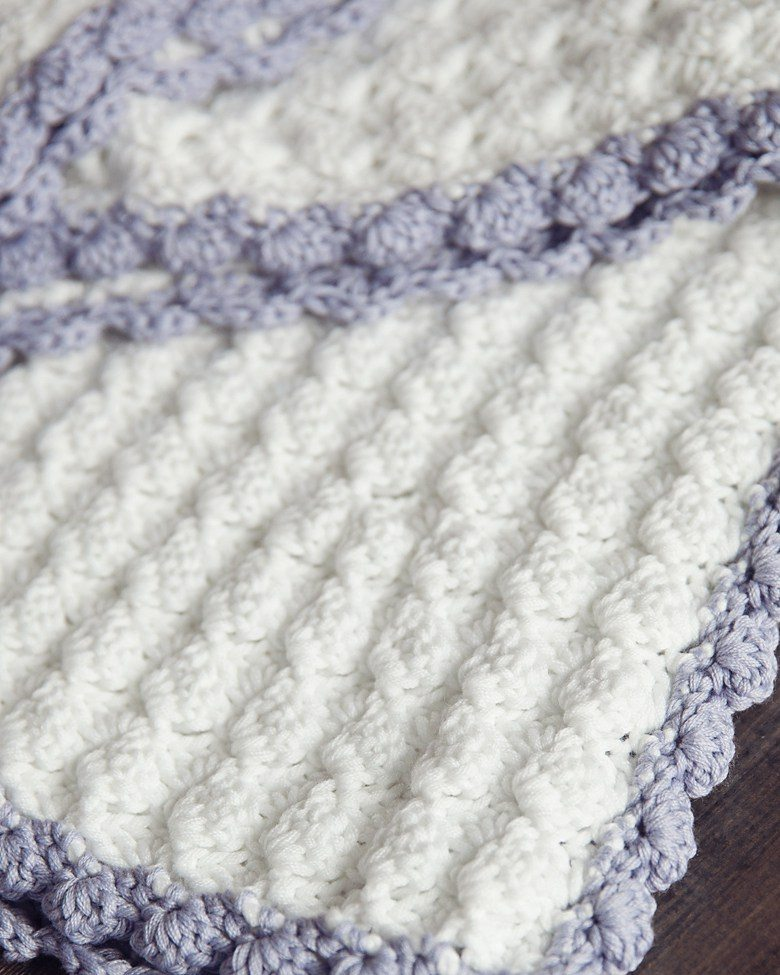 The Best Free Crochet Baby Blankets For Girls Sewrella