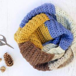 PIECE OF CAKE COWL crochet cowl