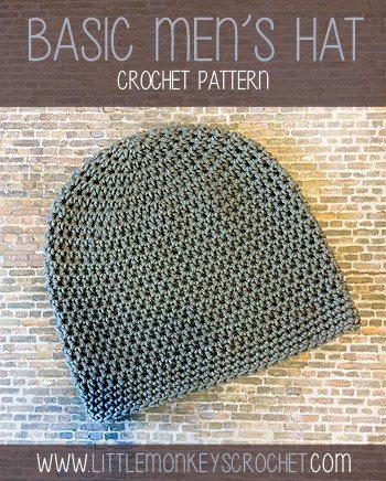 Husband Approved Crochet Hats For Men Sewrella
