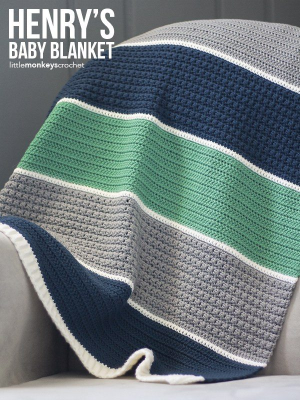 Crochet Baby Blankets For Boys Sewrella