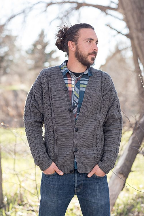 Husband-Approved Free Crochet Sweater Patterns - Sewrella