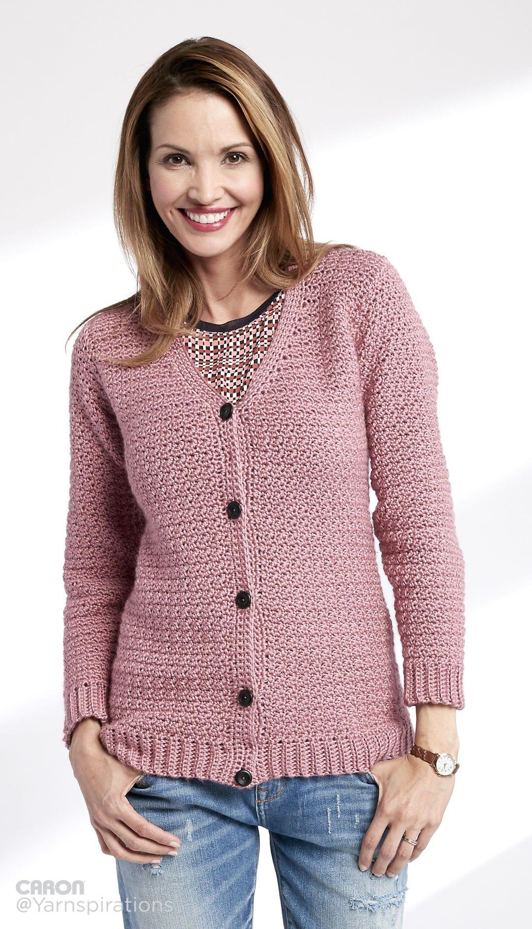Crochet Sweater Patterns that Look Knit - Sewrella