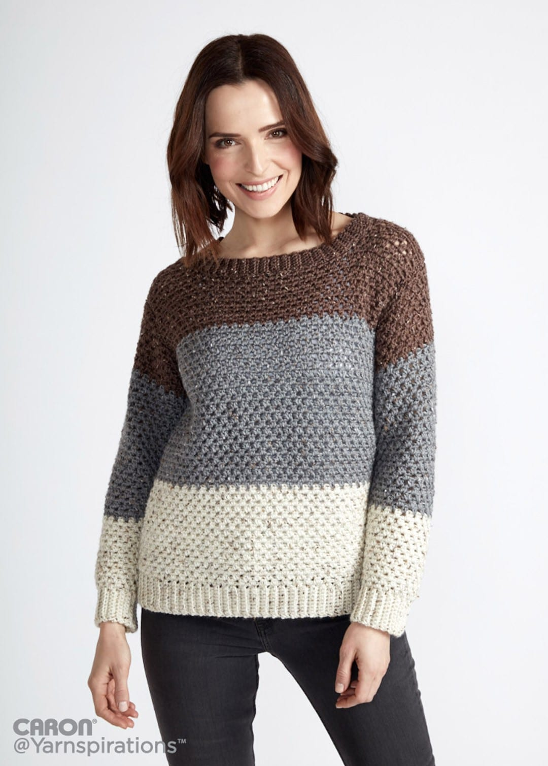 Crochet Sweater Patterns that Look Knit - Sewrella