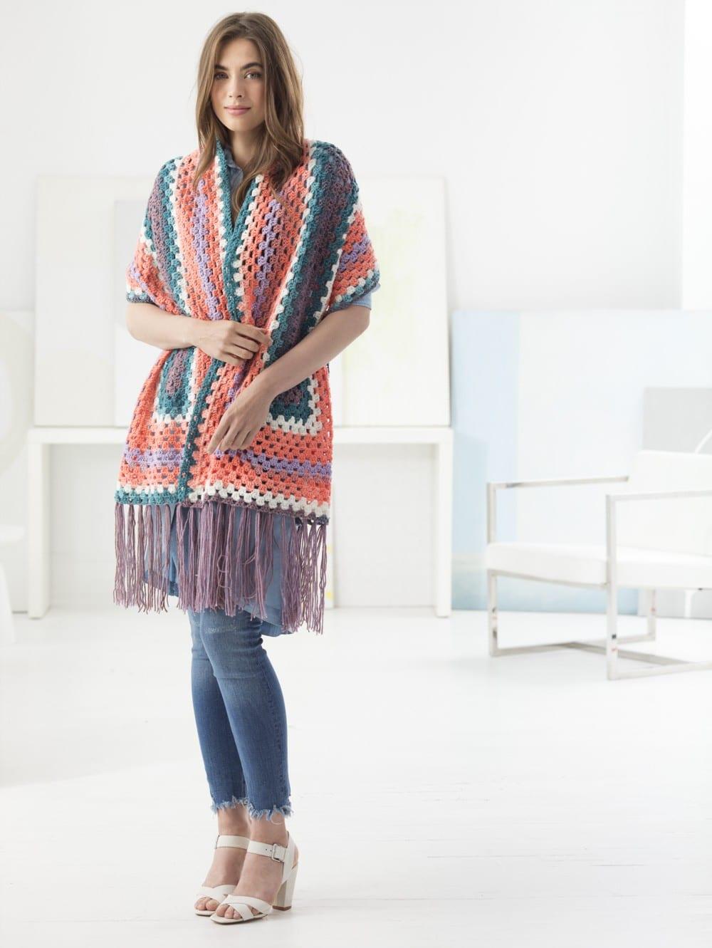 Stylish Crochet Shawls Roundup - Sewrella
