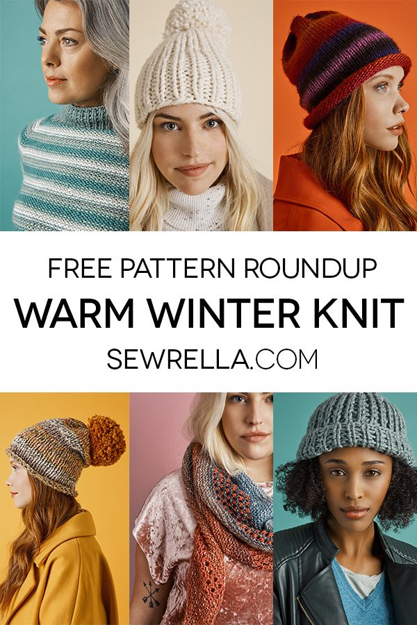 Warm Winter Knit Patterns Roundup Sewrella