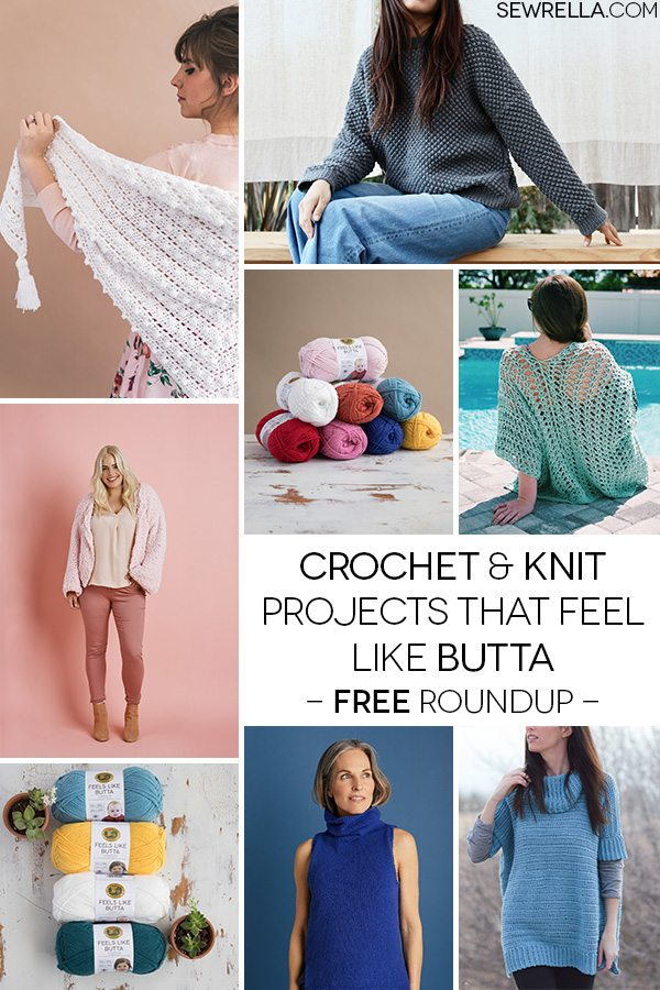 Crochet And Knit Projects That Feel Like Butta A Giveaway