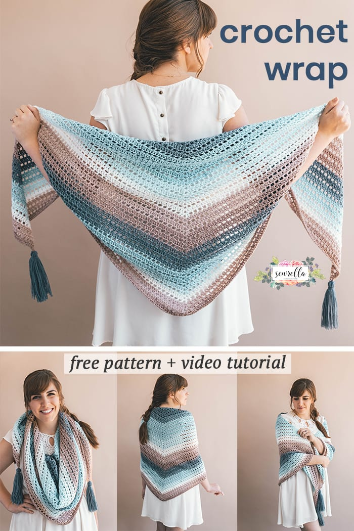 Crochet Wishing Well Wrap Sewrella