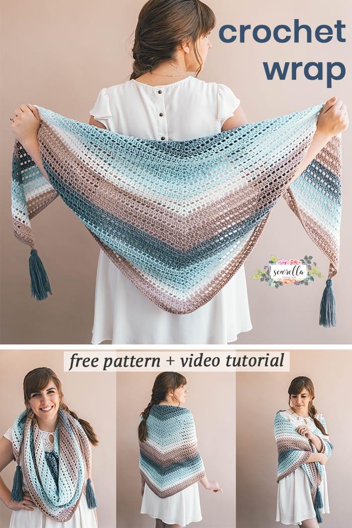 Crochet Wishing Well Wrap Sewrella