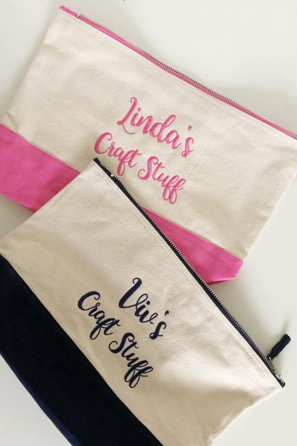 Personalised Crafter's Pouch – www.sewsian.com