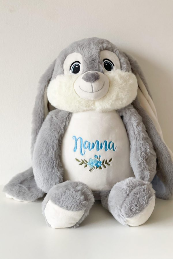 Personalised Floral Soft Toy – www.sewsian.com