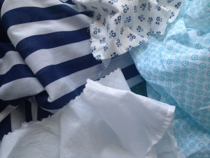 Four different cottons