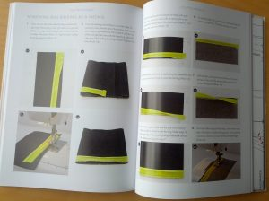 Bias binding facing instructions