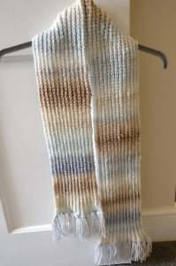 Finished Scarf