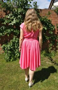 Back View of the Walkaway Dress