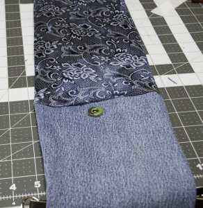 Add-Magnetic-Snap-292x300 Create New Looks From Old Jeans