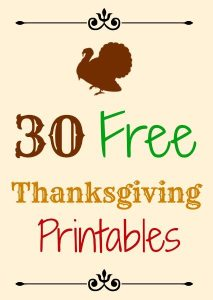 30-Free-Thanksgiving-Printables-Banners-Signs-Tags-213x300 Thanksgiving Around the Web