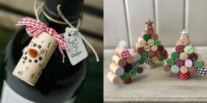 Wine-Cork-Crafts-300x150 48 Christmas Crafts from around the Web