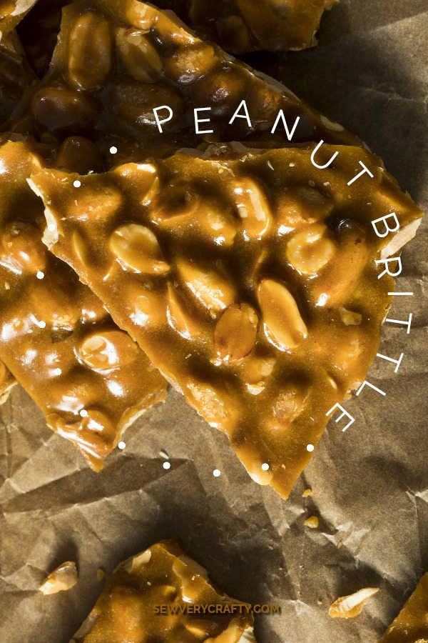 Delicious Holiday Peanut Brittle