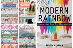 12 Fun and Modern Quilt Books