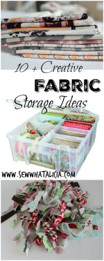 10+ Creative Fabric Storage Ideas
