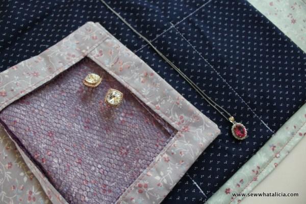 Travel Jewelry Pouch | www.sewwhatalicia.com