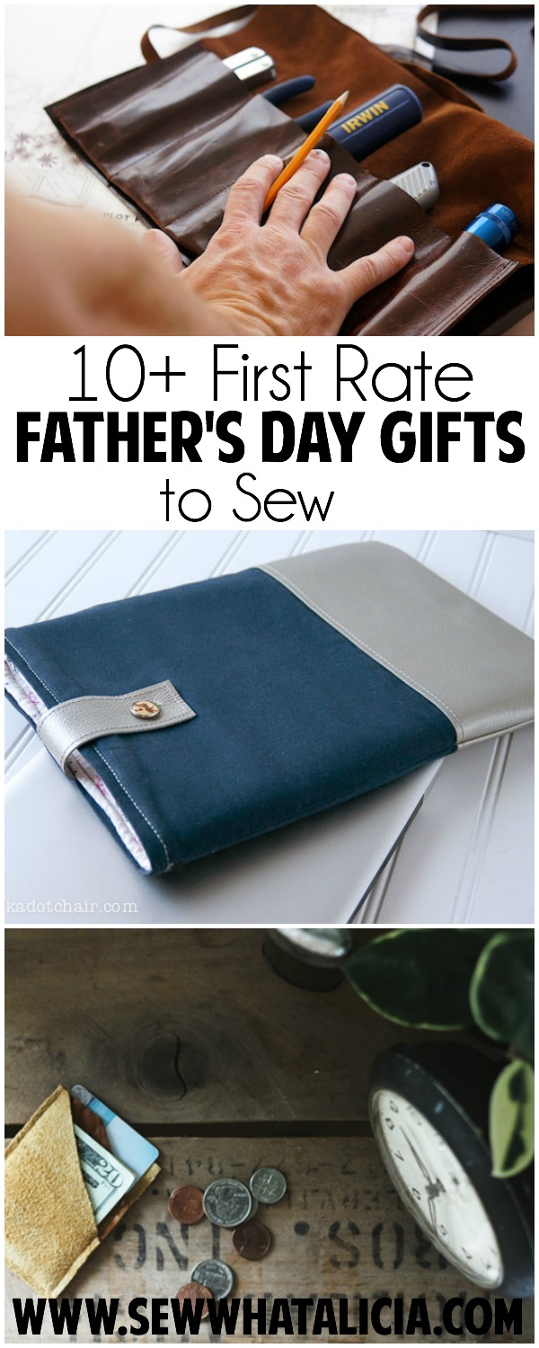 10+ First Rate Father's Day Gifts to Sew | www.sewwhatalicia.com