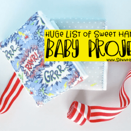 Huge List of Super Sweet Handmade Baby Gifts