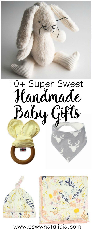 10+ Super Sweet Handmade Baby Gifts   www.sewwhatalicia.com