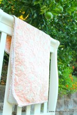 Whole Cloth Quilt Pom Pom Binding