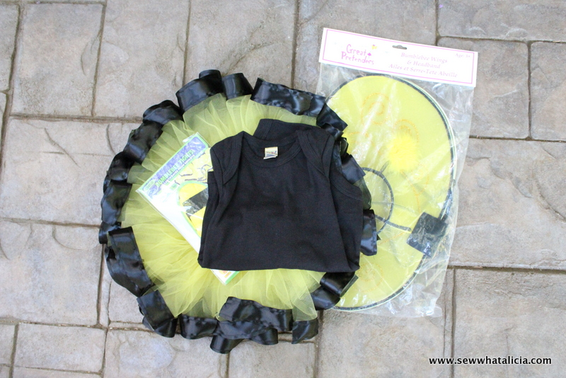 DIY Bumble Bee Costume for Babies and Toddlers | www.sewwhatalicia.com