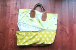 Expandable Bag Pattern and Tutorial
