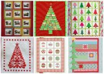 10+ Festive Christmas Quilt Patterns and Books