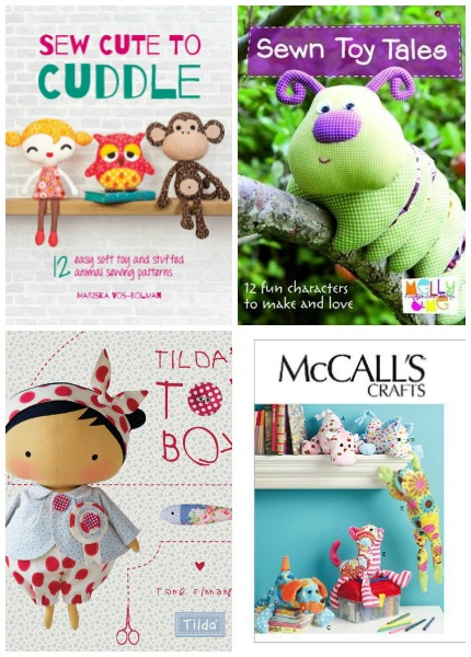 10+ Snuggly Stuffed Animal Patterns: If you love to make your own gifts then these stuffed animal patterns are perfect for you! Click through to see a fun collection of stuffed animal sewing patterns that are great for gifting. | www.sewwhatalicia.com
