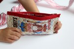 Iron on Vinyl Candy Wrapper Zipper Pouch