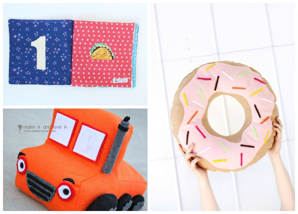 10+ Ideas for Gifts to Sew for Kids for Christmas: If you want to do handmade Christmas then you need some of these ideas for what to sew for the kiddos. Your kids, grandkids, nieces, and nephews will love these! Click through for a full list of ideas. | www.sewwhatalicia.com