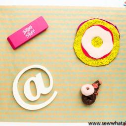 Circular Zipper Pouch Tutorial