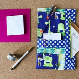 How to Sew a Planner Organizer