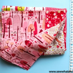 Quick Cheater Baby Rag Quilt Tutorial