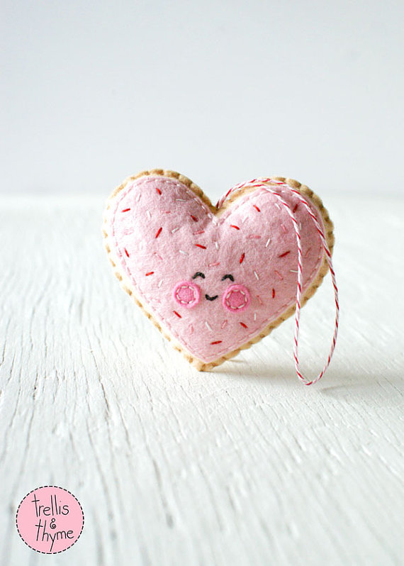 10+ Beautiful Sewn Valentine's Day Ideas