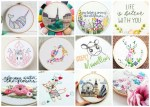 20+ Adorable Hand Embroidery Patterns