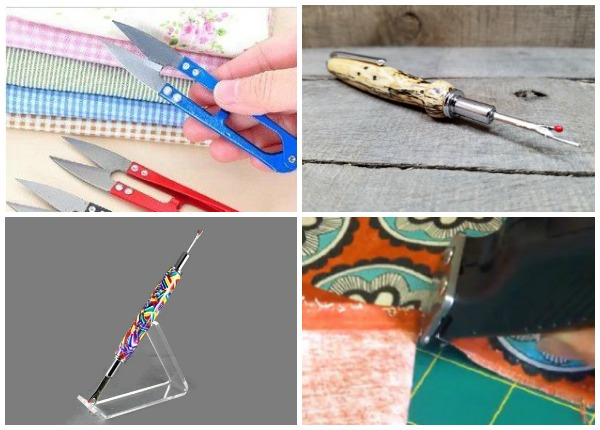 10+ of the Coolest Seam Rippers: We all use them! I bet you had no idea there were so many freaking awesome seam rippers! Click through for a full list of cool seam rippers. | www.sewwhatalicia.com