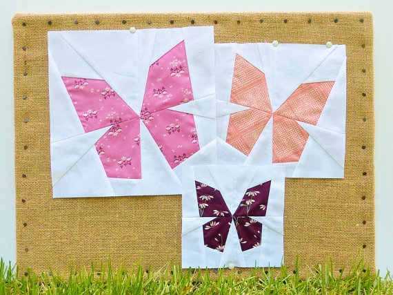 10+ Easy Paper Piecing Patterns : If you are new to foundational paper piecing then this is a great place to start. Click through for a full collection of patterns that are easy to master for sewing paper piecing. | www.sewwhatalicia.com