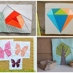 10+ Easy Paper Piecing Patterns