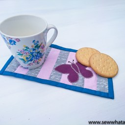 How to Make a Mini Quilt – Tutorial