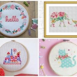 Where to Find Cross Stitch Patterns – Plus 20 Patterns