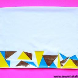 How to Customize a Pillowcase with a Cricut