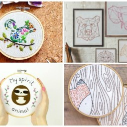20+ Animal Embroidery Patterns to Stitch