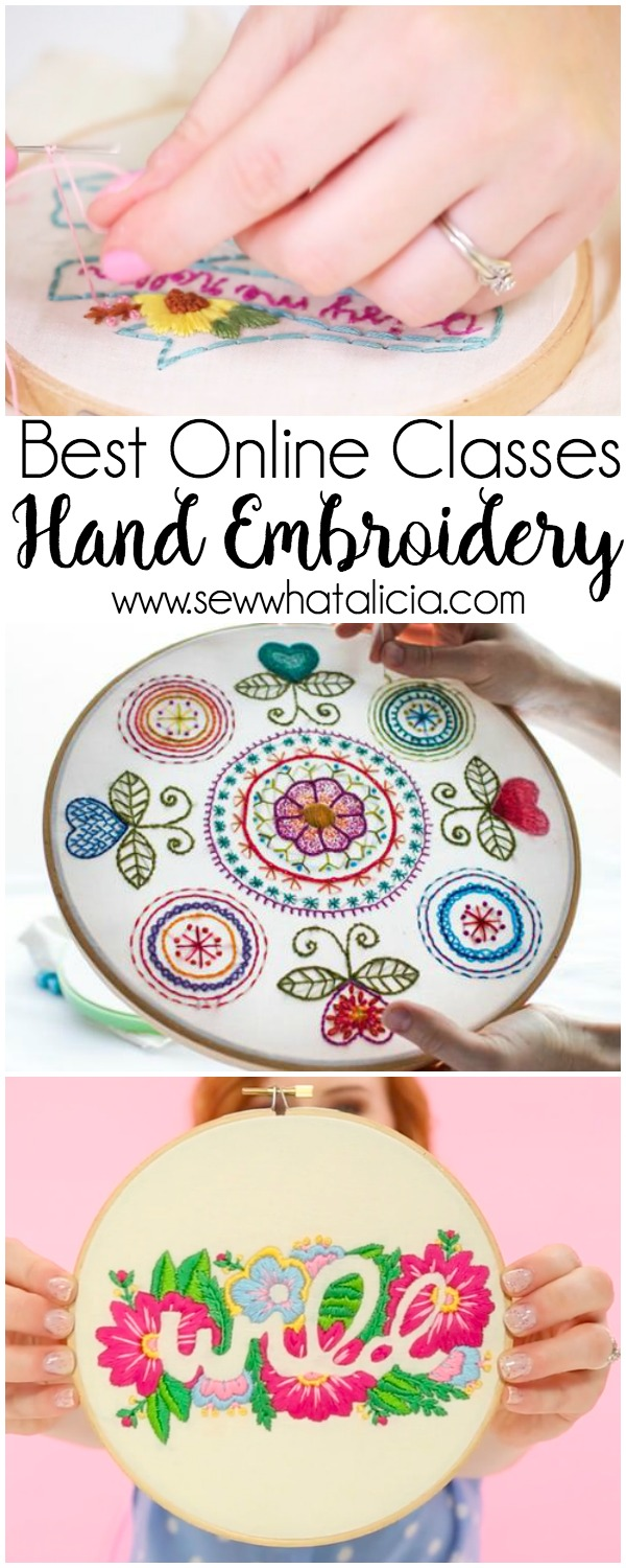 Classes To Unlock The Secrets Of Embroidery Sew What Alicia