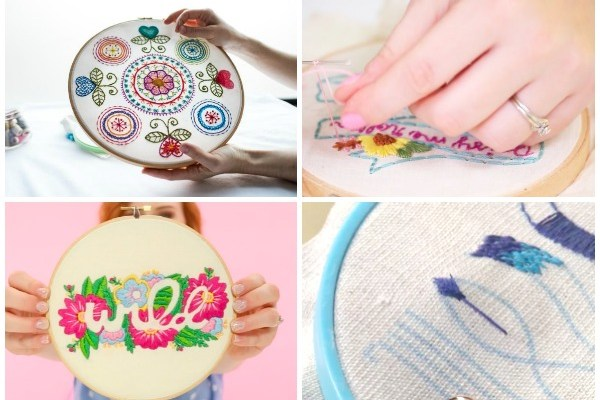 Classes to Unlock the Secrets of Embroidery: If you want to learn hand embroidery then taking a class is a great option. I have put together my favorite hand embroidery classes. Click through for a full list. | www.sewwhatalicia.com
